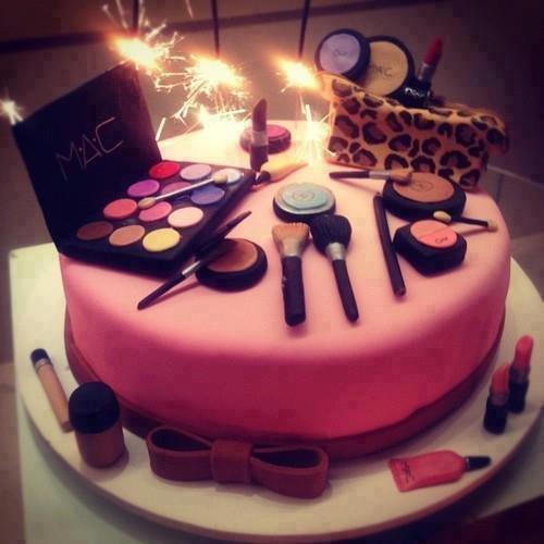 С днем рождения картинка с косметикой