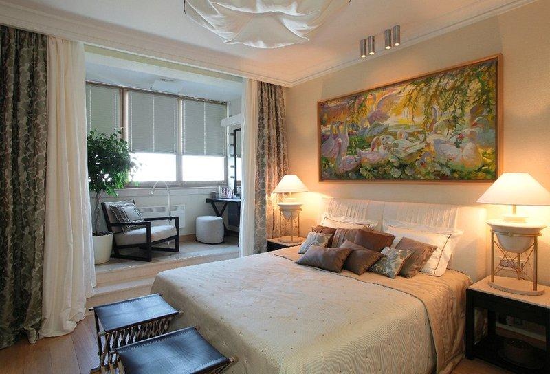 Спальня с балконом - карточка от пользователя alexandr.khare.