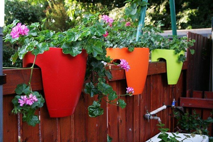"""Уличные вазоны для цветов и горшки из глины"""" - карточка поль."""