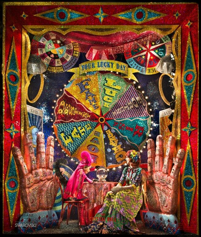 The holidays are also time for the luxury department stores in NY unveil their magical window displays, filled with fantastical themes,