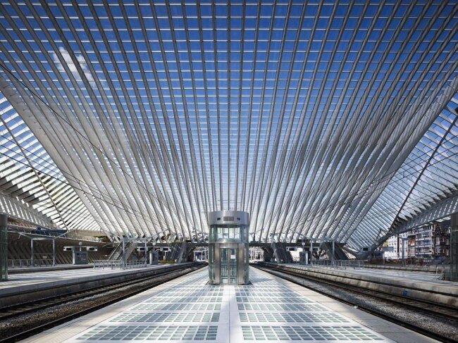 Вокзал Льеж-Гийемен в Бельгии