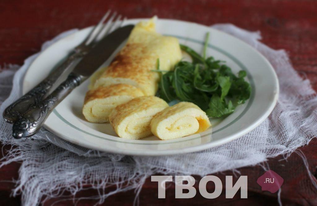 Французский омлет рецепт с фото