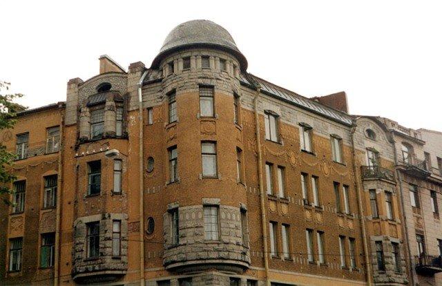 Дом Мельцеров арх.Ф.И.Лидваль 1906-08