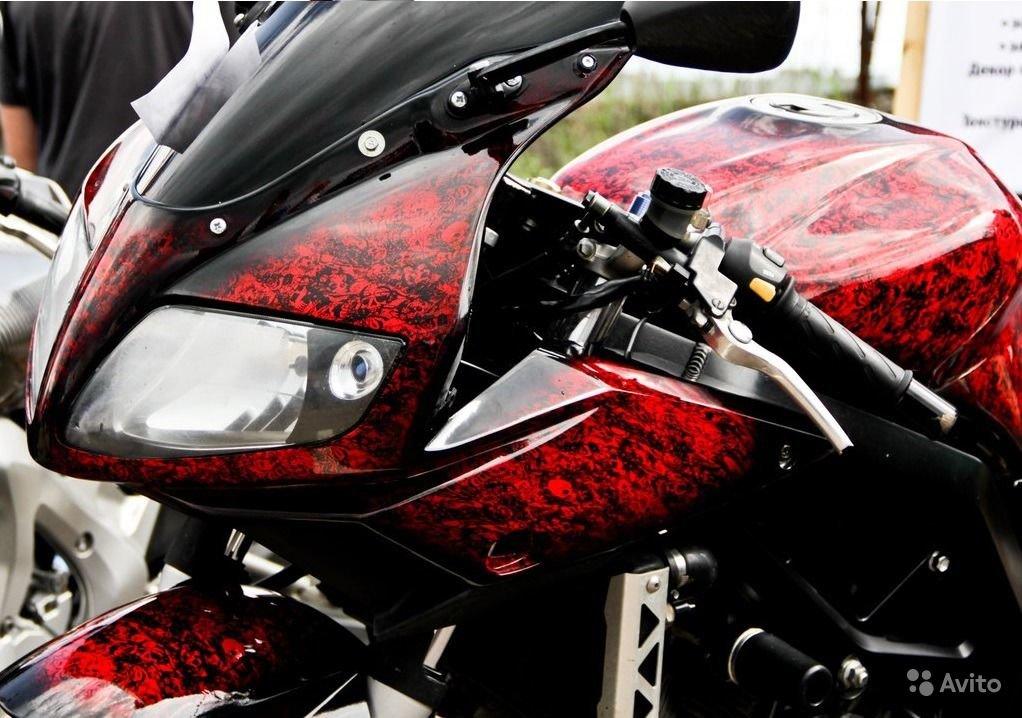 Покраска мотоцикла фото
