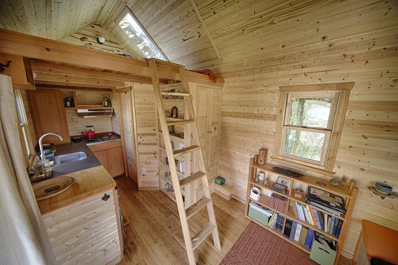 Дачный домик своими руками интерьер фото