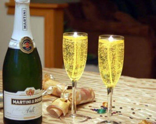 Как будто шампанское