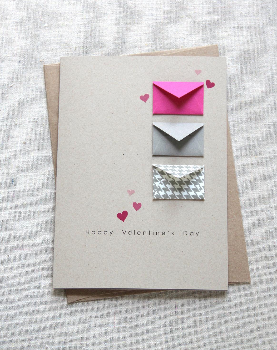 Простые открытки своими руками для любимого