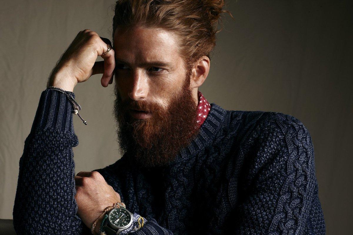 Картинка фото мужчина с бородой