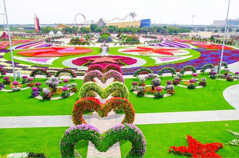 Dubai Miracle Garden или Парк Цветов