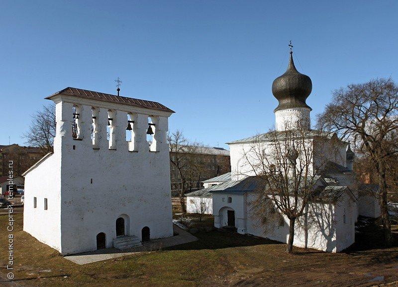 Церковь Успения Пресвятой Богородицы с Пароменья в Пскове