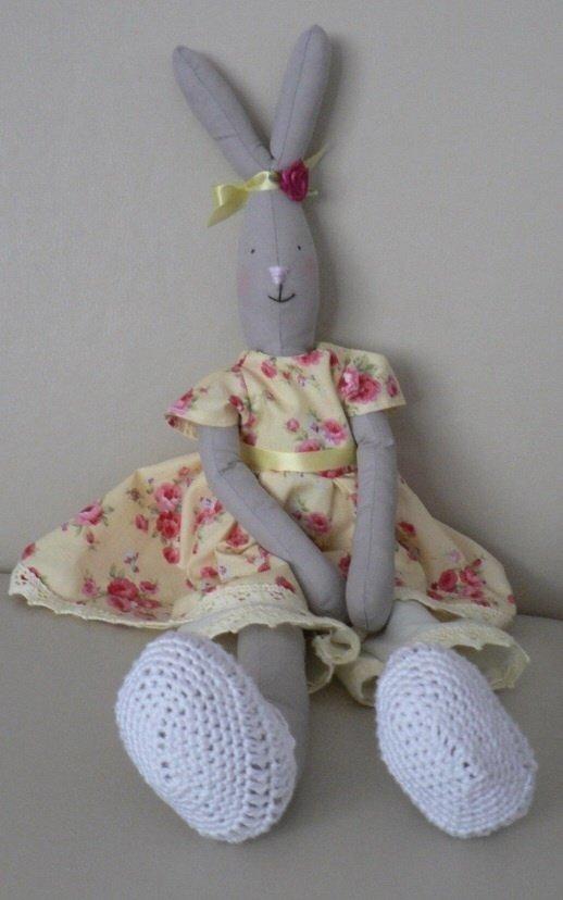 Кукла кролик тильда