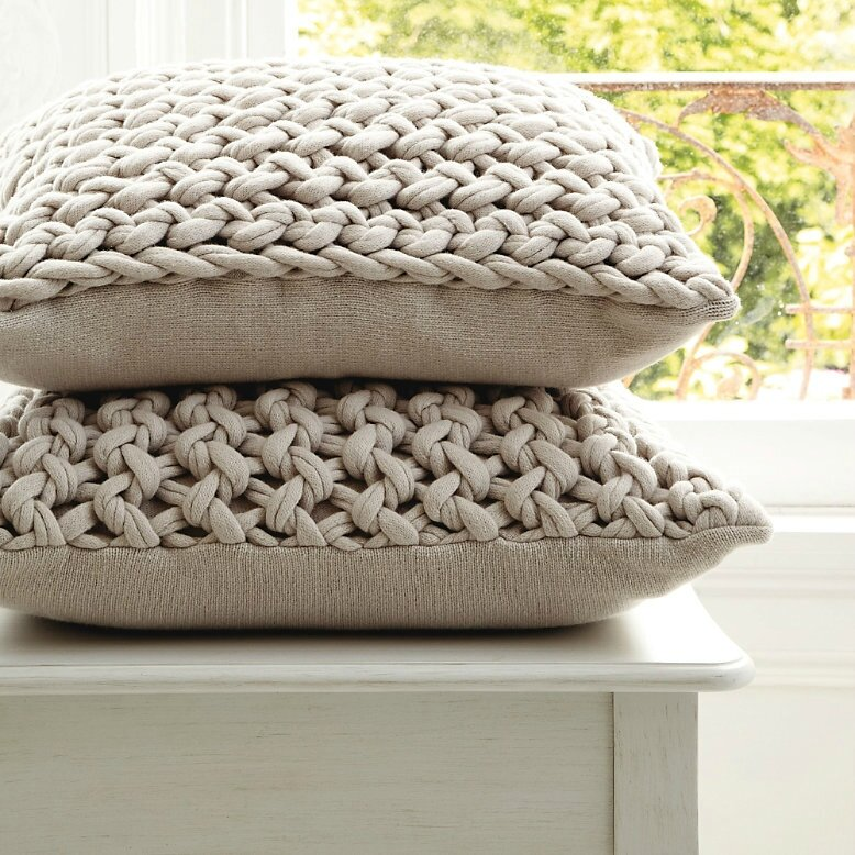 Natural Chunky Hand-Knit Cushion, The White Company is creative inspiration for us. Get more photo about home decor related with by looking at photos gallery at the bottom of this page. We are want to say thanks if you like to share this post to another people via your facebook, …