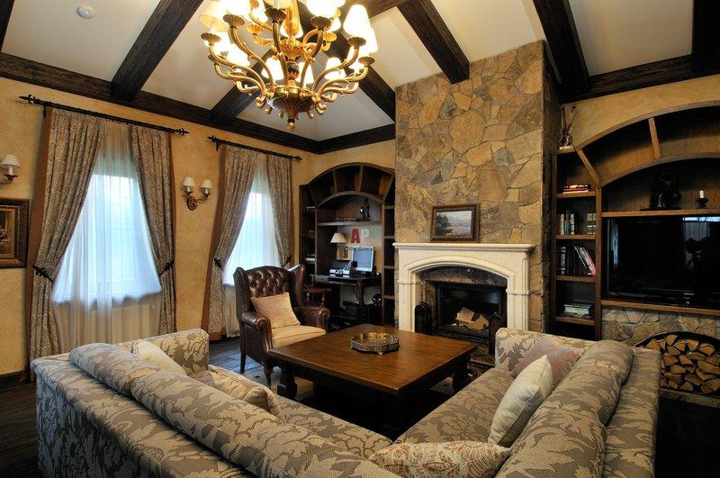 Выполним дизайн проект дома или квартиры в стиле шале. Заказать дизайн интерьера однокомнатной, двухкомнатной квартиры по выгодной стоимости!