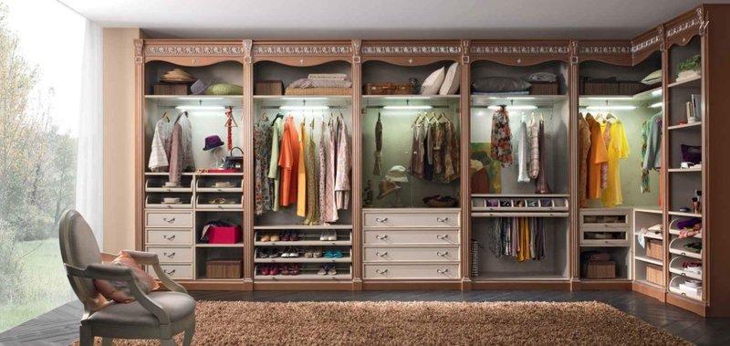 лучшие производители гардеробных комнат того
