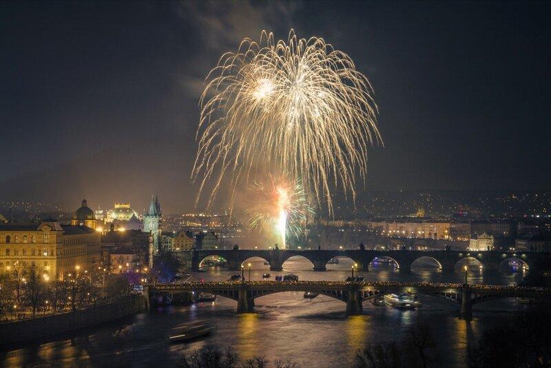 В новогодней Праге есть развлечения на любой вкус.