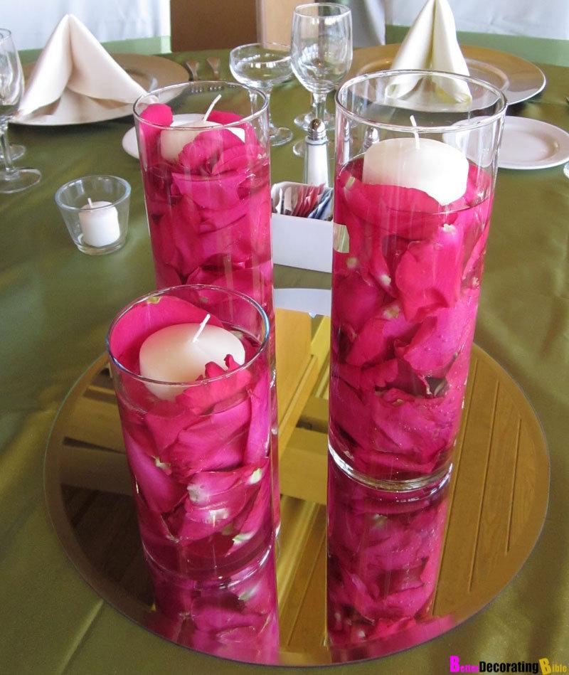 Романтичные свечи