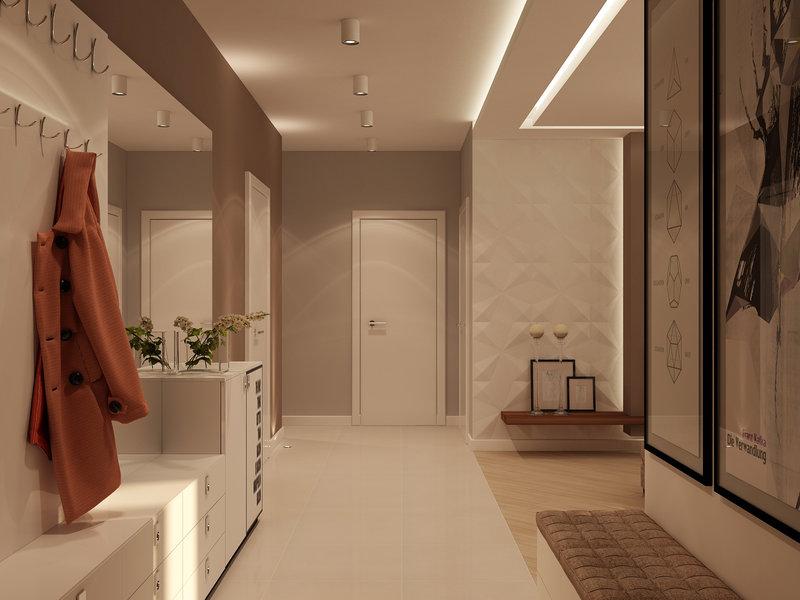 фото интерьер холла в квартире