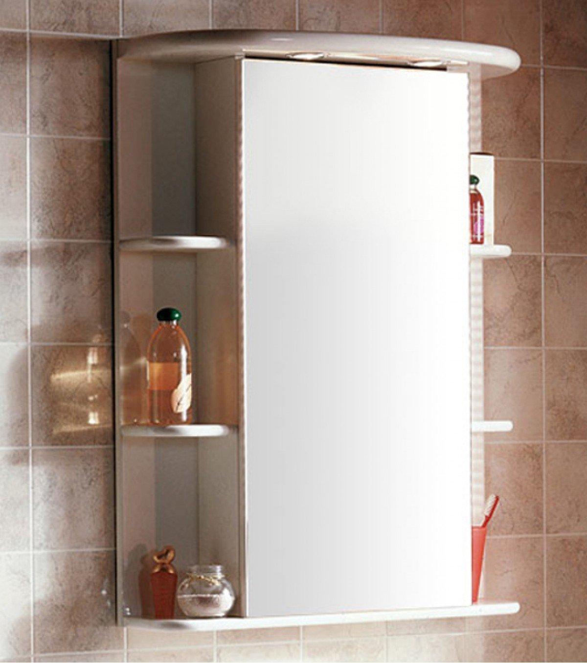 Шкафчик с зеркалом для ванной своими руками фото 437