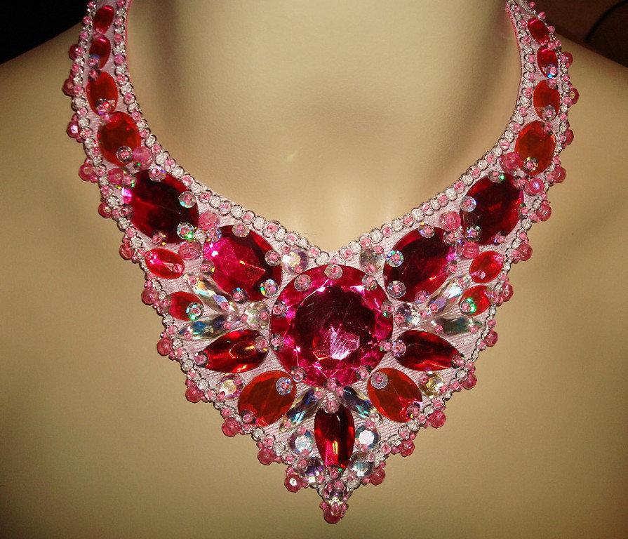 Ожерелье своими руками мастер класс 19