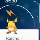 #025 - Pikachu #026 - Raichu