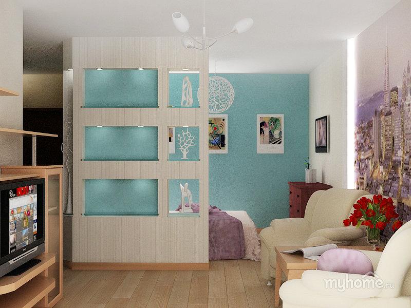 14 примеров квартир по 40 кв.м. - маленькая, но уютная