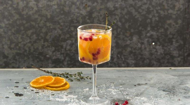 Мандариновый коктейль