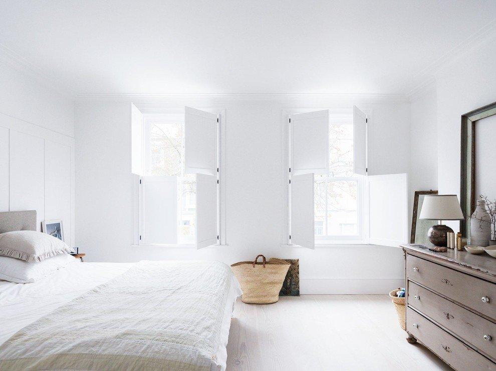 Картинка комнаты в белом цвете