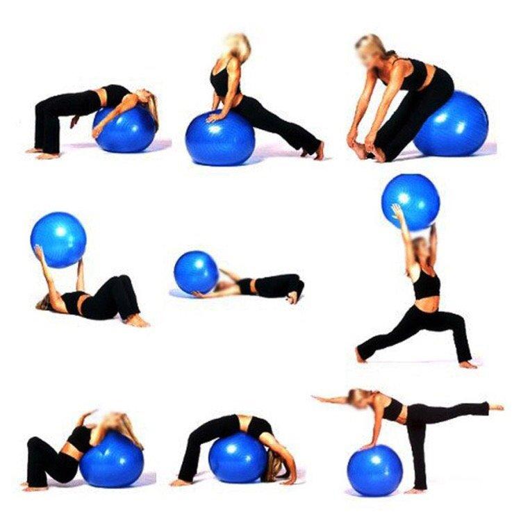 занятия для похудения на шаре