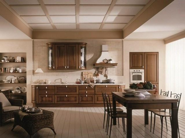деревянные полы характерны для деревенского стиля
