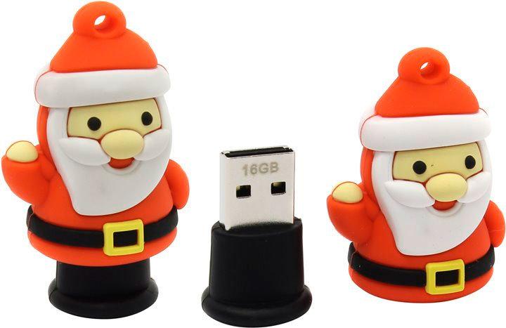 Новогодняя флешка USB 16GB Smart Buy Дед Мороз