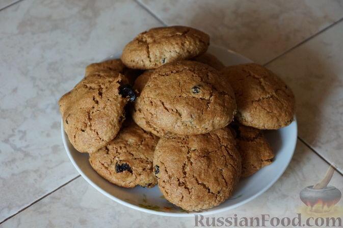 Овсяное печенье просто и быстро