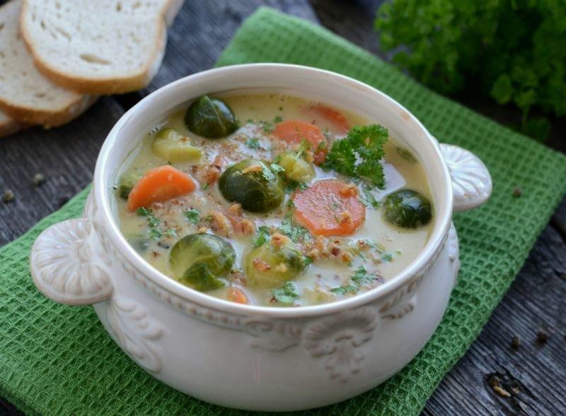 ротики ловкие супы с брюссельской капустой самые