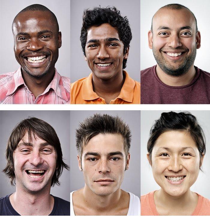 должен расы людей в картинках время