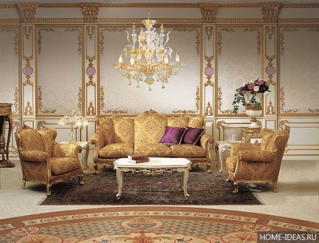 Стиль барокко в интерьере (26 фото). Советы дизайнера, как сделать интерьер в стиле барокко в доме или квартире.