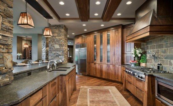 Кухня в стиле кантри своими руками