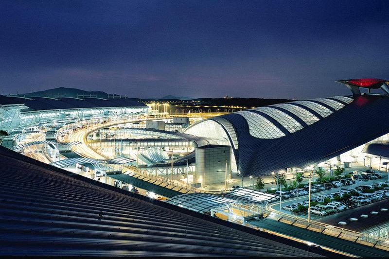 Южная Корея, аэропорт Инчхон (или аэропорт Сеула).