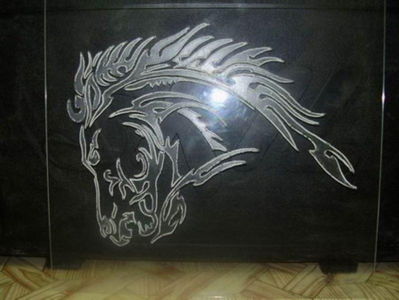 Красивые рисунки на стекле Построй свой Дом! 7