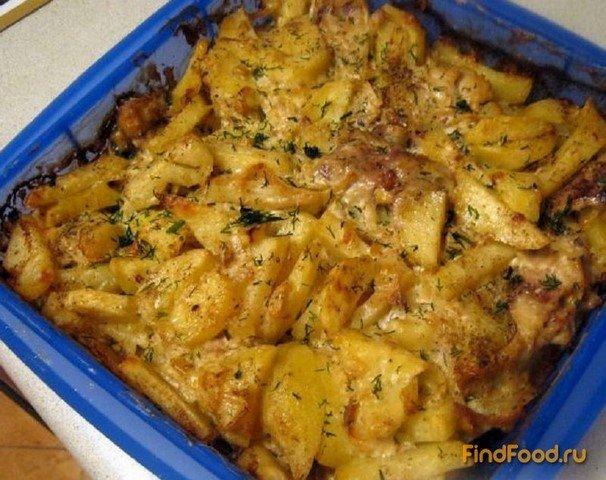 Рецепт с фото скумбрия картошка