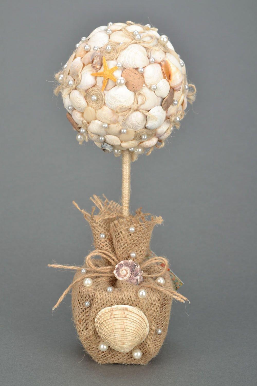 топиарий из ракушек своими руками пошаговое фото сладкую выпечку
