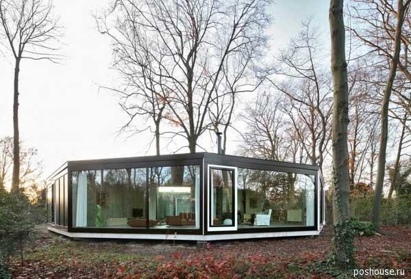 House BM- современный дом, построенный в 2011 г. Необычная архитектура этого современного частного дома сопоставима с формой многогранника. Удивительный проект!
