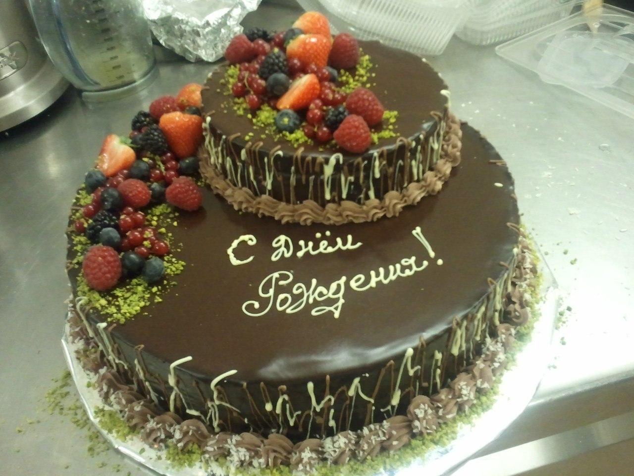 Рецепт простого торта на день рождения своими руками фото 276
