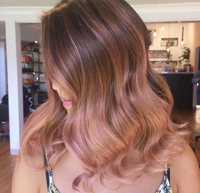 шикарный цвет волос фото