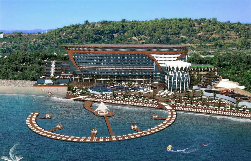 отель Granada Luxury Resort amp Spa 5 звезд Турция