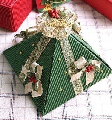 Новогодние поделки из бумаги своими руками от 5 лет до 7 лет ... Новогодние поделки из бумаги своими руками от 5 лет до 7 лет. Новогодняя упаковка-елка 2015