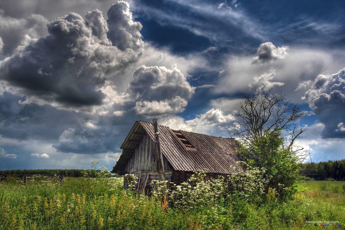 бодро красивые картинки с деревенской природой и домами бывают