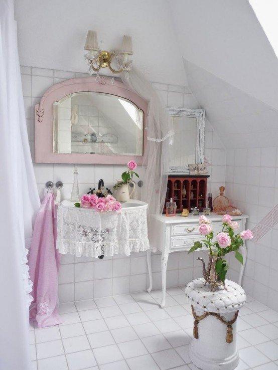 Какие детали помогут воплотить сахарно-розовую историю стиля шебби в городской квартире?