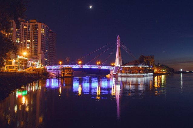 краснодар мост поцелуев фото