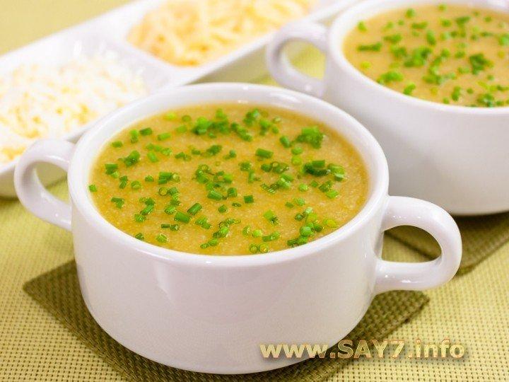 овощной суп из цветной капусты пюре