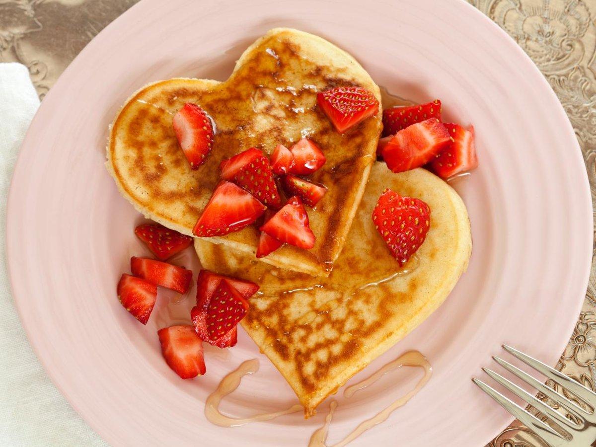 Открытка завтрак для любимого, рисунки про