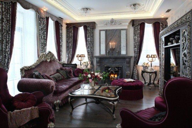 Дизайна интерьера в стиле барокко: особенности стиля и фото.
